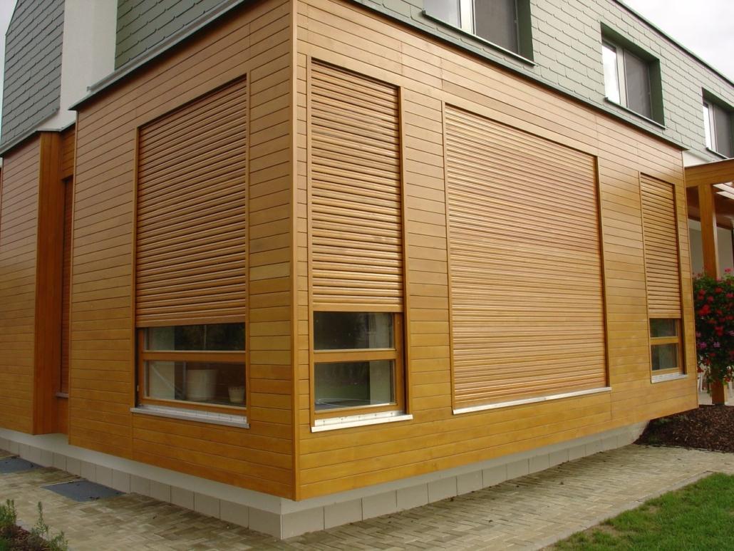 Dřevěné rolety